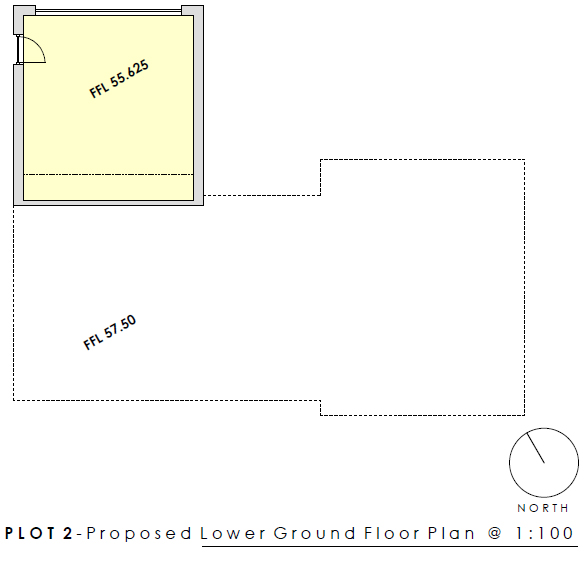 Plot 2 Lower Ground