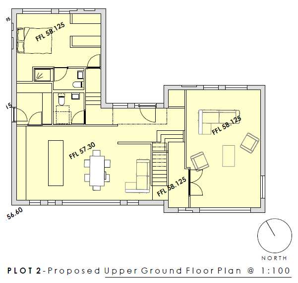 Plot 2 Upper Ground